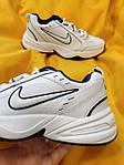 Мужские кроссовки Nike Air Monarch IV (белые) D81 спортивная легкая обувь для парней, фото 5