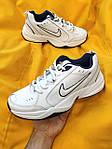 Мужские кроссовки Nike Air Monarch IV (белые) D81 спортивная легкая обувь для парней, фото 3