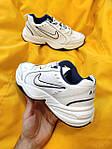 Мужские кроссовки Nike Air Monarch IV (белые) D81 спортивная легкая обувь для парней, фото 4