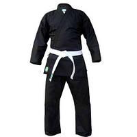 Кимоно для карате Club черное Green Hill (KSC-10043)