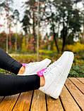 Білі жіночі Кросівки Nike Air Force 1, фото 3