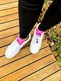 Білі жіночі Кросівки Nike Air Force 1, фото 5