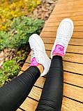 Білі жіночі Кросівки Nike Air Force 1, фото 6