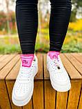 Білі жіночі Кросівки Nike Air Force 1, фото 7