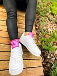 Білі жіночі Кросівки Nike Air Force 1, фото 9