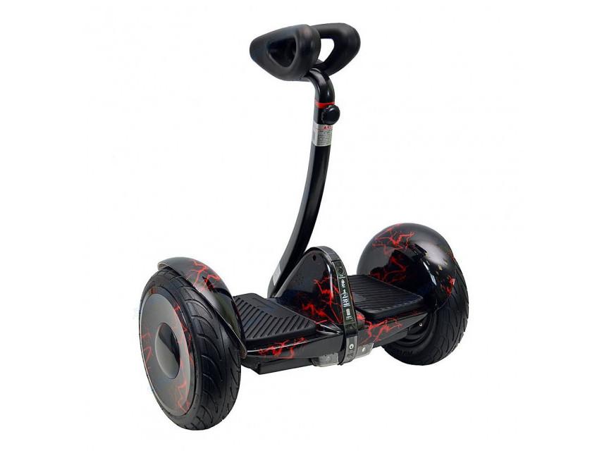 Гироскутер міні-сігвей Mini Robot 10.5 Червона блискавка