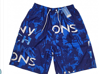 Мужские пляжные шорты CASTOM 13101 XL синий