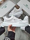 Стильные кроссовки LACOSTE White, фото 4