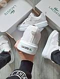 Стильные кроссовки LACOSTE White, фото 5