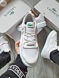 Стильные кроссовки LACOSTE White, фото 6
