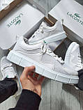 Стильные кроссовки LACOSTE White, фото 2