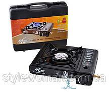Портативна газова Плита MAX MS-2500LPG (Корея, чорна)