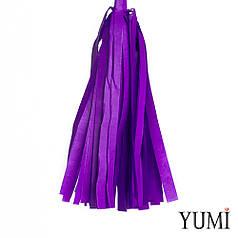 Декор: кисточка тассел фиолетовая (1шт)
