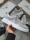 Стильні кросівки LACOSTE Grey, фото 4