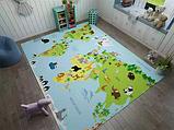 """Бесплатная доставка! Ковер """"Карта мира"""" (1.6*2.3 м), фото 7"""