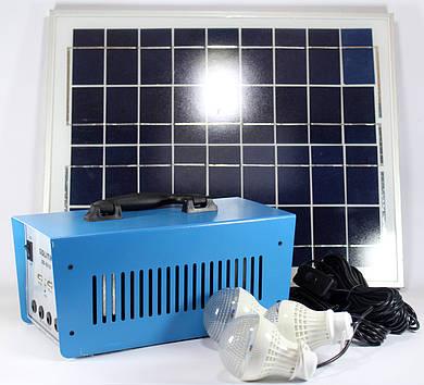 Фонарик GD 8018 + Solar board 20W (4)