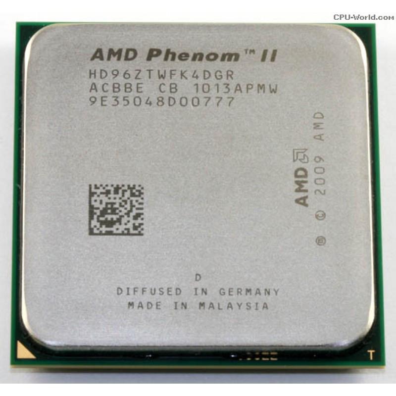 Процессор AMD Phenom II X4 960T 3000MHz, sAM2+/AM3
