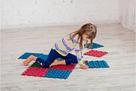 Килимок масажний гумовий для стоп Пазли 6 килимків