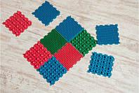 Килимок масажний гумовий для стоп Пазли 10 килимків