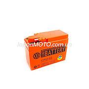 Аккумулятор 2.3A 12V Honda DIO AF-34/35 (YTR4A-BS) Vland 113x49x85