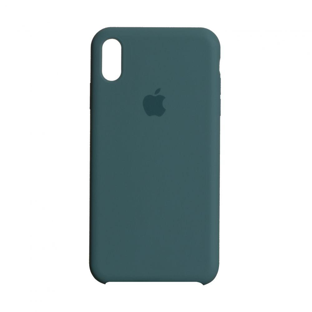 Чохол для  Iphone Xs Max Original copy / Темно зелений