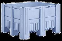 Крупногабаритные контейнеры 1200 х 1000 х 740 синие 9 ножек