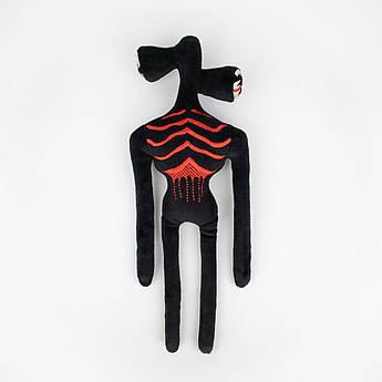 Мягкая игрушка Черный Сиренеголовый 27 см Siren Head
