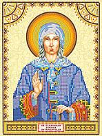 Схема для вышивки бисером икона Святая Ксения