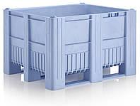 Крупногабаритные контейнеры 1200 х 1000 х 740 синие, фото 1