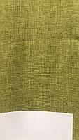 Лляная легкая ткань в оливковом цвете на метраж (М1-15), фото 2
