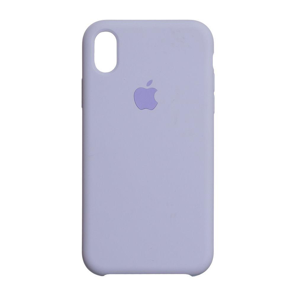 Чехол для  Iphone Xs Max Original copy / Сиреневый