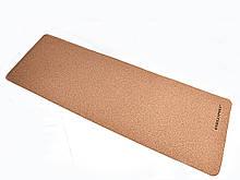 Килимок для йоги Корковий 183 х 61 х 0,3 см