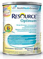 Nestle RESOURCE OPTIMUM (Ресурс оптимум) с 7 лет , 400 г.