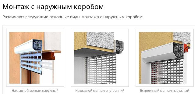 установить роллеты в Киеве