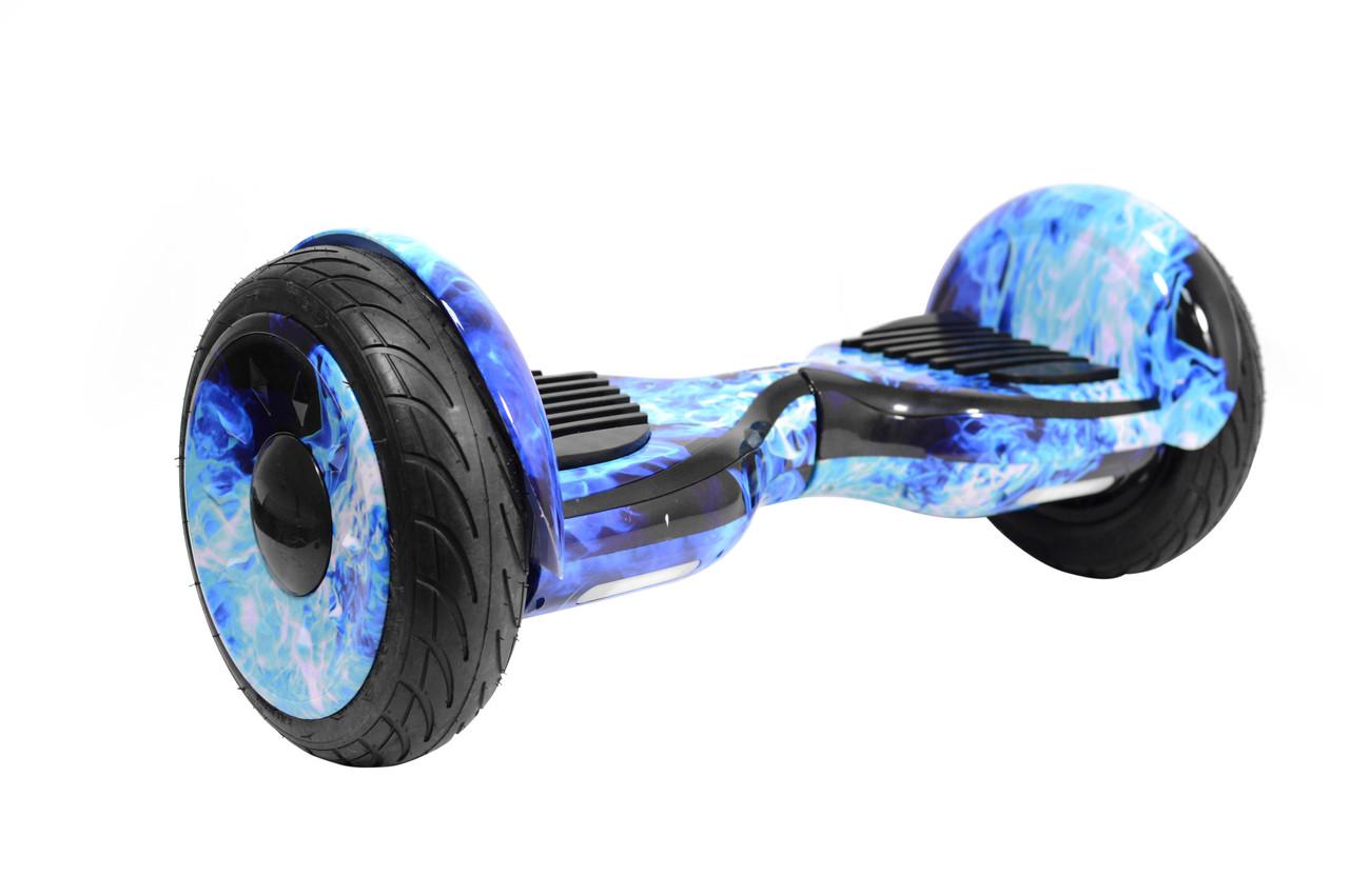 Гироборд Smart Balance U20 Premium Гироскутер 10,5 дюймов (смарт баланс) Синие Пламя