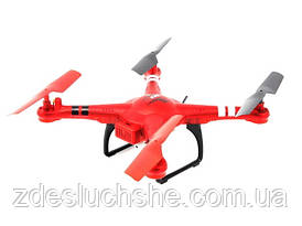 Квадрокоптер WL Toys Q222G Spaceship на радіоуправлінні з барометром і Fpv системою червоний SKL17-139798
