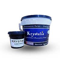 KRYSTALIA COMPONENT A - Акрилова фарба з ефектом мерехтіння кристалів. SPIVER