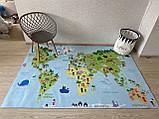 """Бесплатная доставка! Ковер """"Карта мира"""" (1.6*2.3 м), фото 2"""