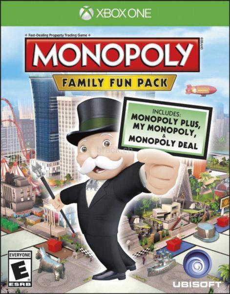 Гра для ігрової консолі Xbox One, Monopoly Family Fun Pack (БУ)