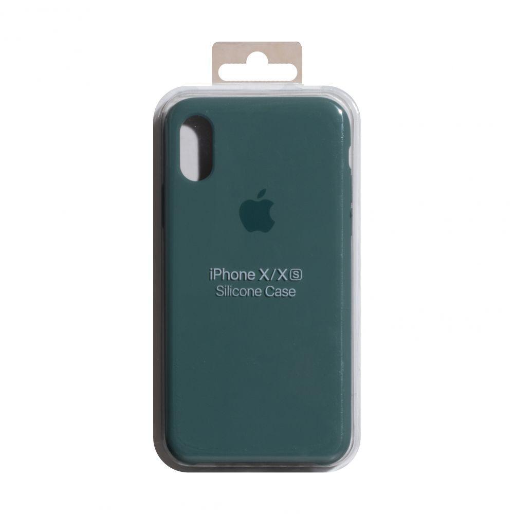 Чехол для  Iphone Xs  Original copy / Зеленый
