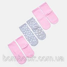 Носки Sinsay для девочки набор 3 пары, 9 / 1,5-3 мес. (13-15)