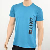 Мужская футболка Nike(реплика) Голубой