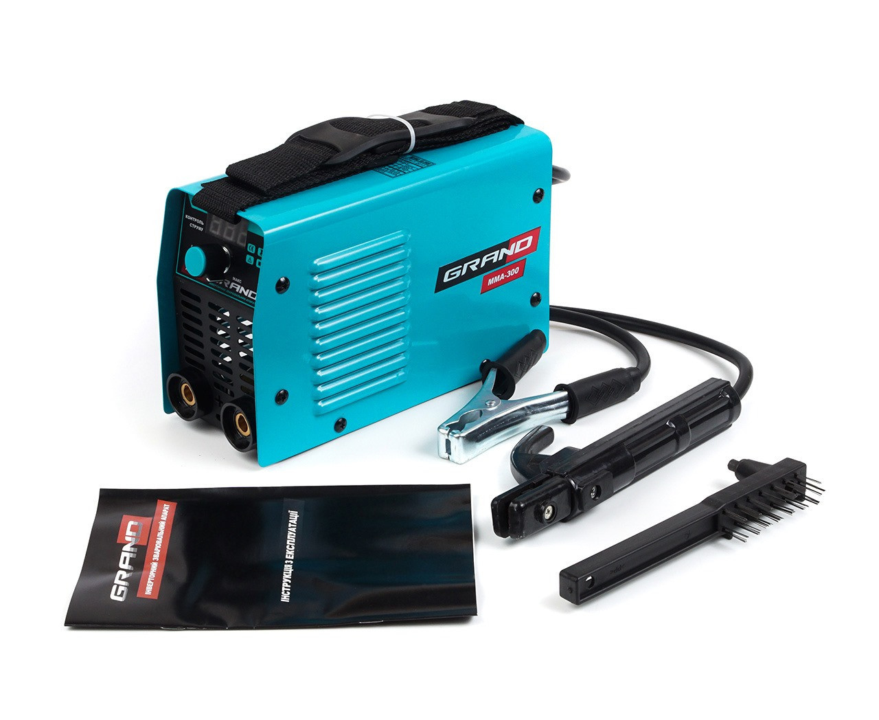 Сварочный аппарат Grand ММА-300 (300 А, дисплей)