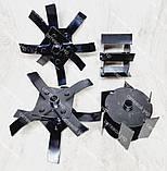 Насадка культиватор-сапка для бензокоси 26 і 28 мм штанга (вал 7 і 9 шліців) на підшипниках, фото 2
