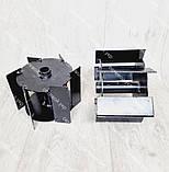 Насадка культиватор-сапка для бензокоси 26 і 28 мм штанга (вал 7 і 9 шліців) на підшипниках, фото 3