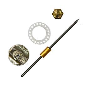 Комплект форсунок Konner для краскопульта 1.5 мм (52-777)
