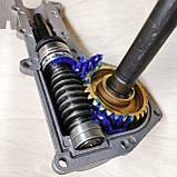 Насадка культиватор-сапка для бензокоси 26 і 28 мм штанга (вал 7 і 9 шліців) на підшипниках, фото 5