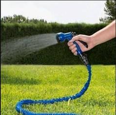 Садовый шланг для полива растягтвающийся, гибкий 22.5 м X-HOSE UKR-75FT