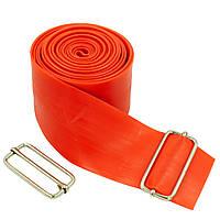Жгут эластичный спортивный, лента жгут VooDoo Floss Band (латекс,l-2,5м, 5смx2мм, синий, красный)