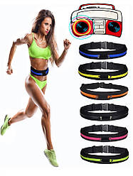 Спортивна Сумка на пояс для бігу і фітнесу Go Runners Pocket Belt / Поясна сумка для спорту